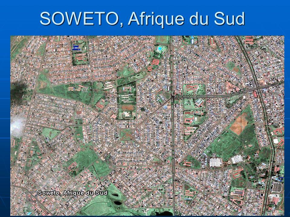 10 SOWETO, Afrique du Sud