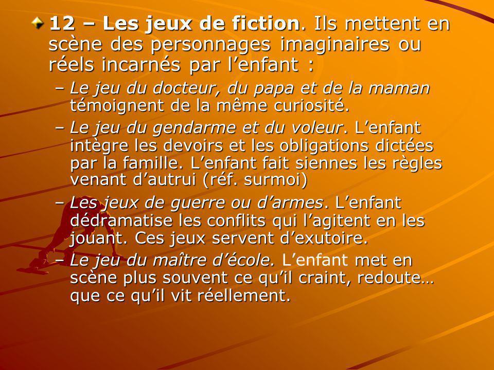 12 – Les jeux de fiction.