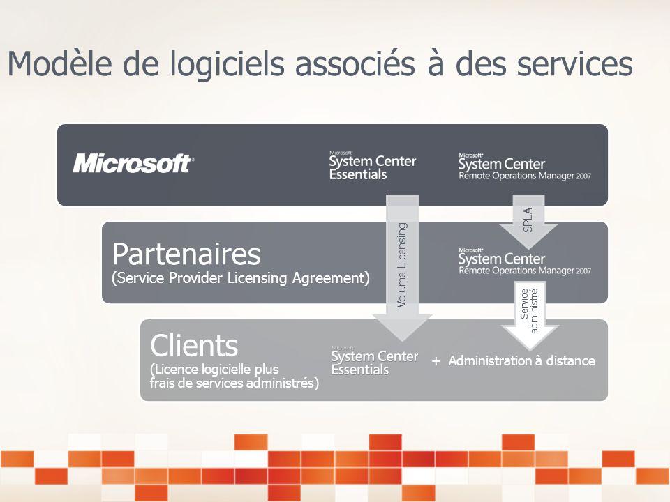 Des logiciels associés à des services