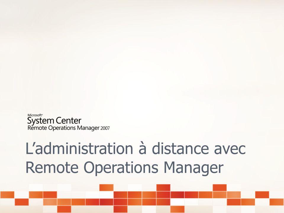 Administration à distance par un partenaire Microsoft Certified Côté client Transition entre le dépannage interne vers ladministration proactive exter