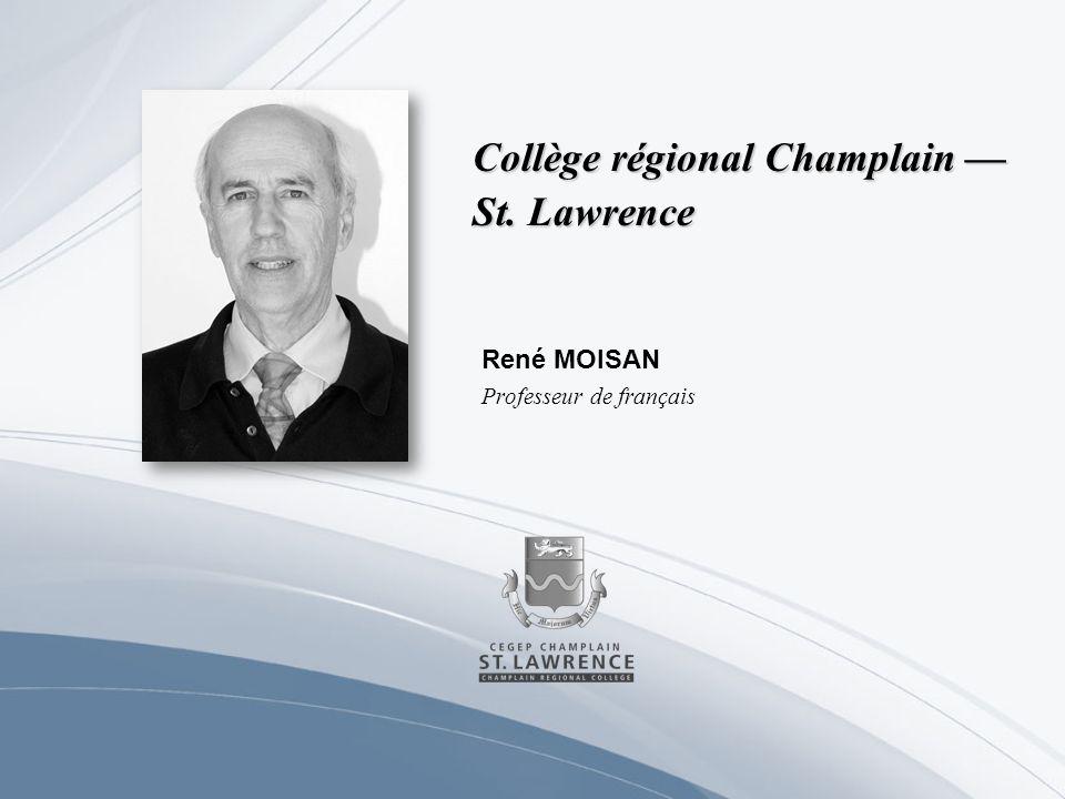 Collège Shawinigan Dominic CROISETIÈRE Professeur en techniques déducation à lenfance