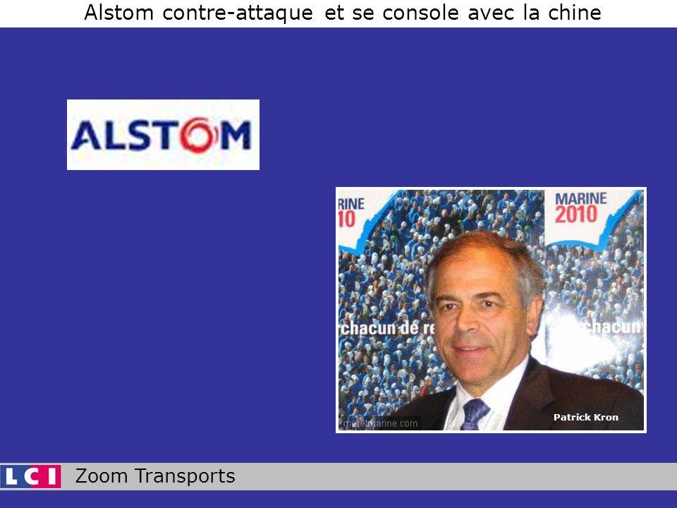 Zoom Transports Alstom contre-attaque et se console avec la chine Patrick Kron