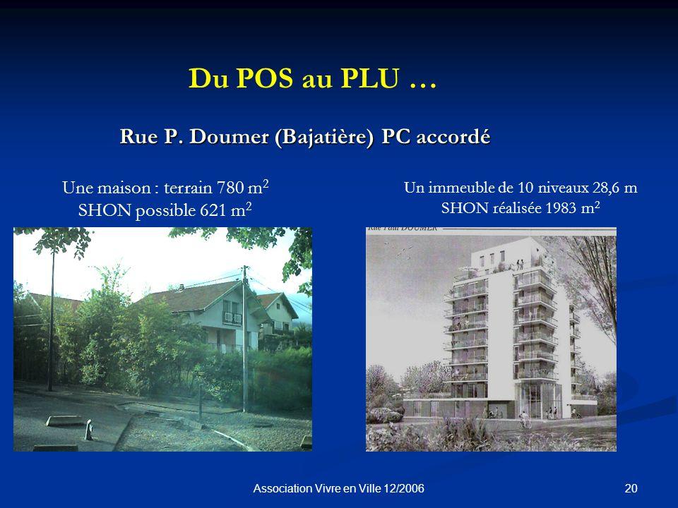 20Association Vivre en Ville 12/2006 Rue P.