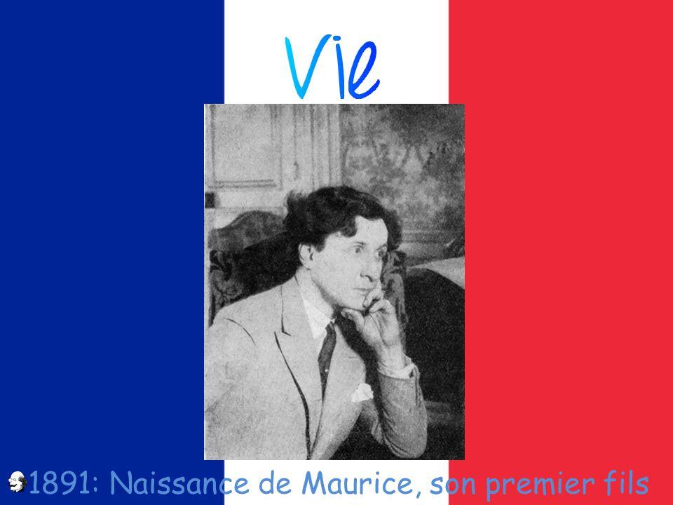 1891: Naissance de Maurice, son premier fils