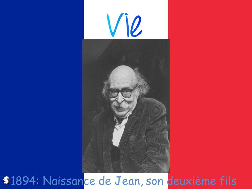 1894: Naissance de Jean, son deuxième fils