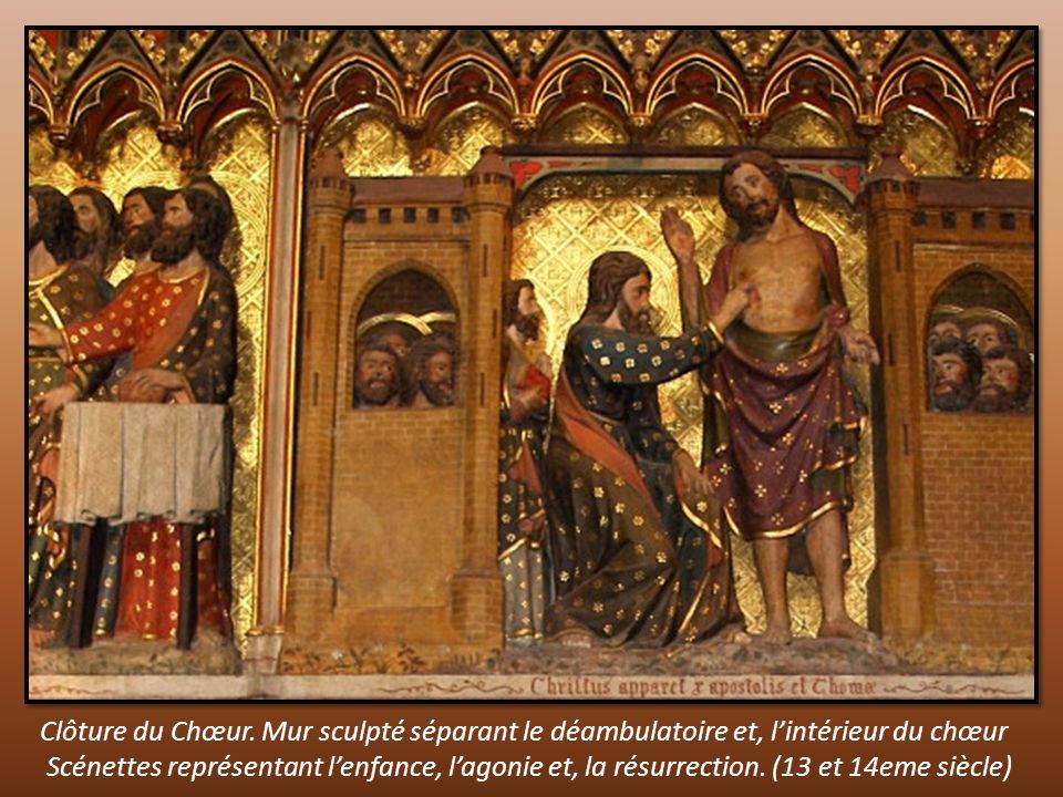 Clôture du Chœur.