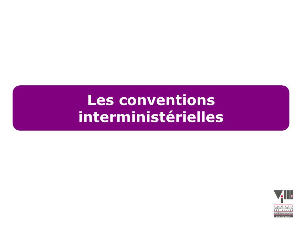 Les conventions interministérielles