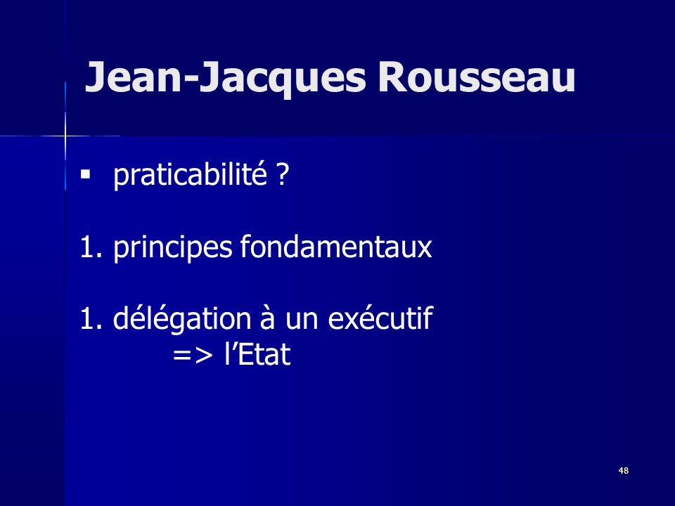 praticabilité .1. principes fondamentaux 1.