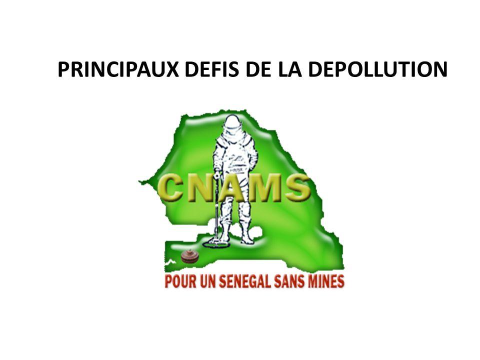 PRINCIPAUX DEFIS DE LA DEPOLLUTION