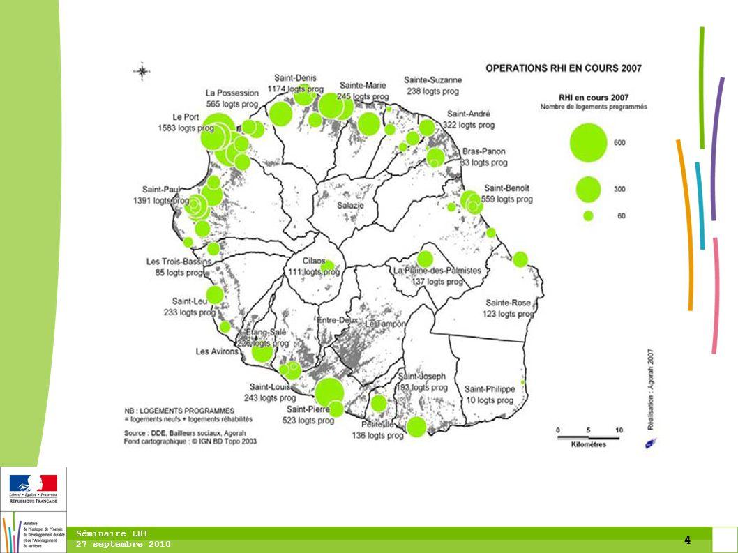 15 Séminaire LHI 27 septembre 2010 =>Recueil des données: -ZHPI -Servitudes agricoles, risques, urbanisme, etc.