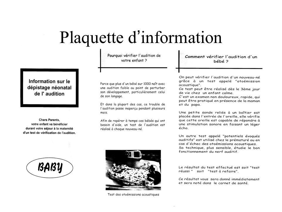 Plaquette d ' information