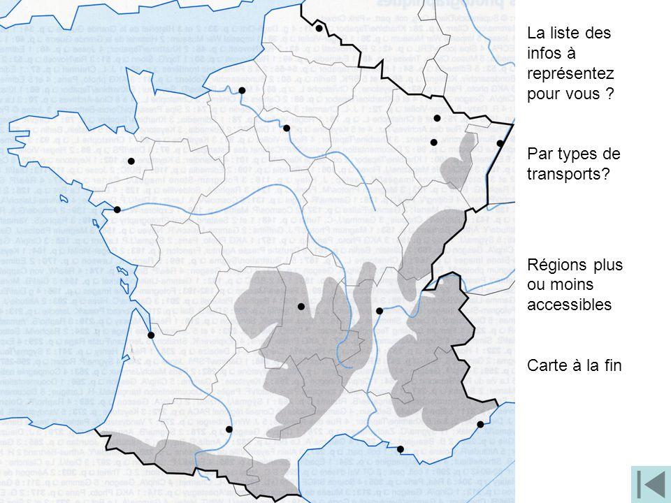 II. L'accessibilité de la France dans la mondialisation (3h) •P•Problématique: La France est-elle plus accessible depuis le développement de la mondia