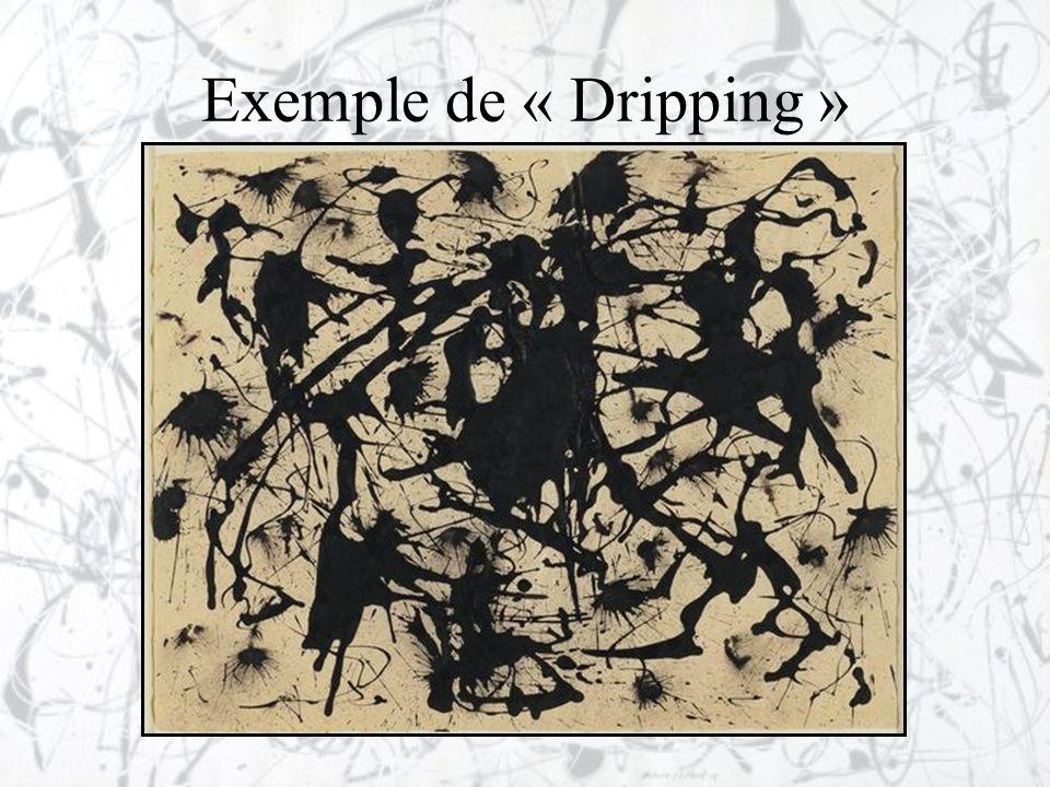 Exemple de « Dripping »