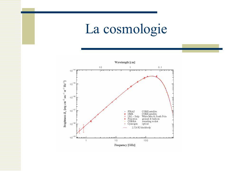 La cosmologie