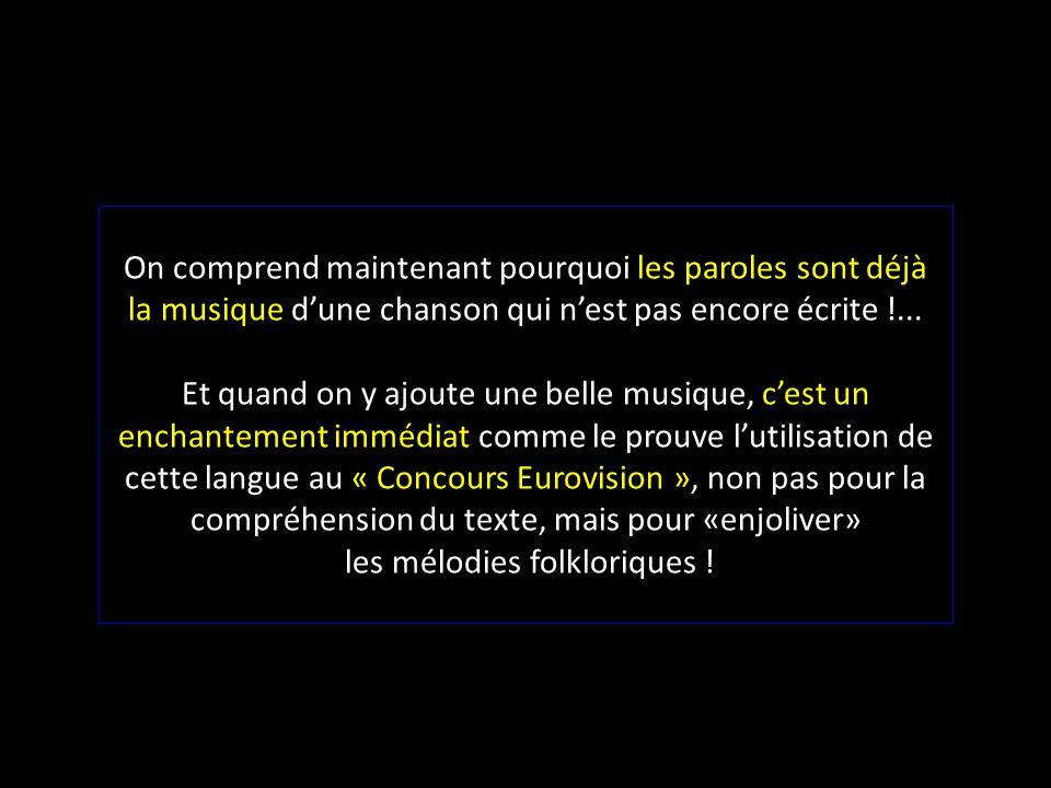 Contrairement au débit monotone de la langue française, la langue anglaise possède naturellement un rythme interne tellement régulier qu'un métronome,