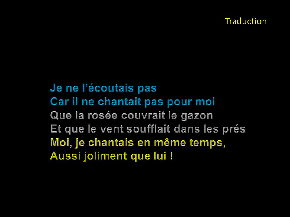 Traduction