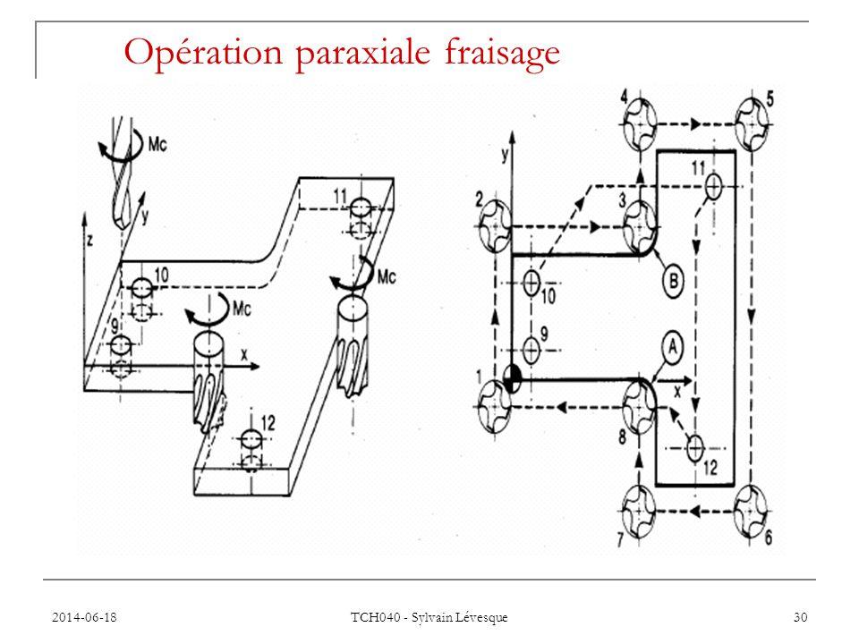 2014-06-18 TCH040 - Sylvain Lévesque 30 Opération paraxiale fraisage