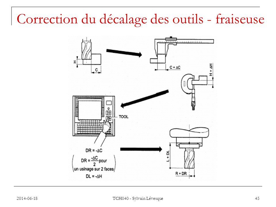 2014-06-18 TCH040 - Sylvain Lévesque 45 Correction du décalage des outils - fraiseuse