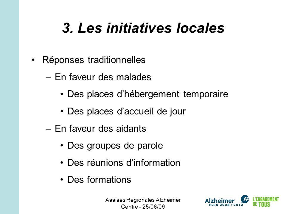 Assises Régionales Alzheimer Centre - 25/06/09 3.