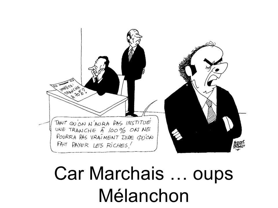 Car Marchais … oups Mélanchon