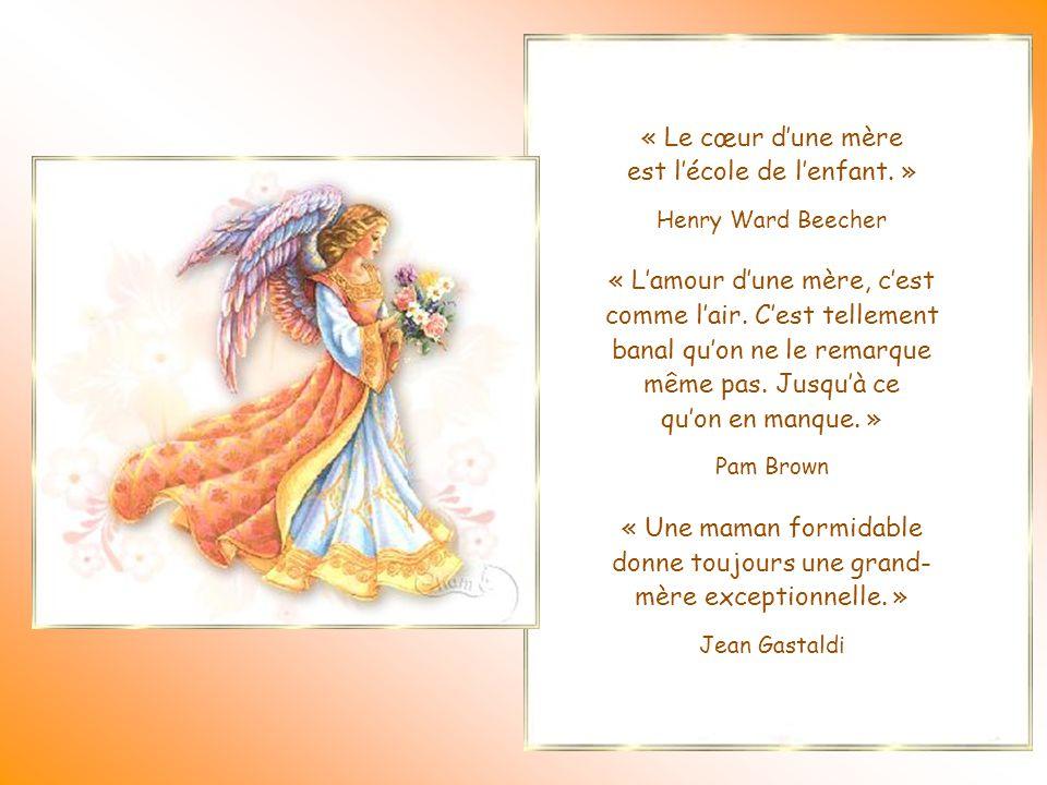 « Le cœur d'une mère est un abîme au fond duquel se trouve toujours un pardon. » Honoré de Balzac Il existe, un peu partout dans le monde, des perles.