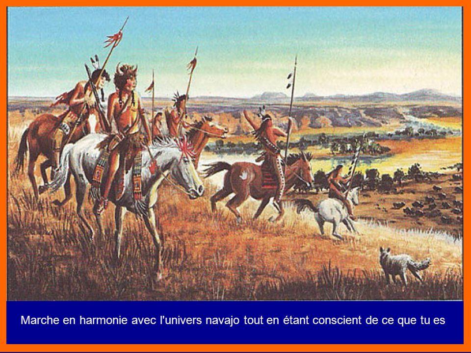 Peinture de guerre d'un guerrier Huron