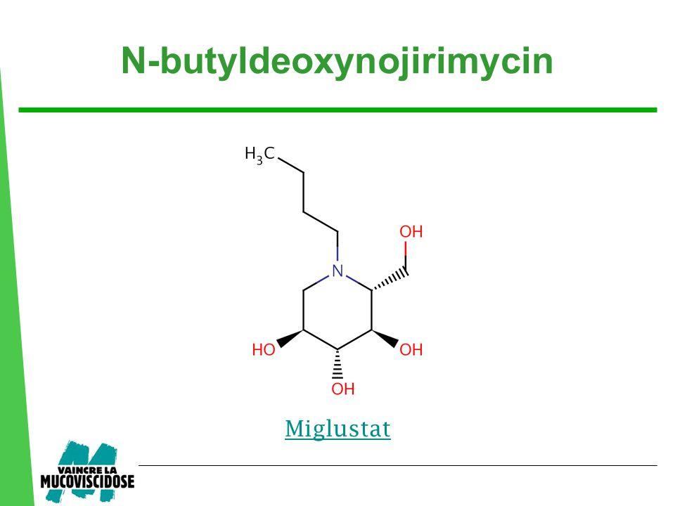 N-butyldeoxynojirimycin Miglustat