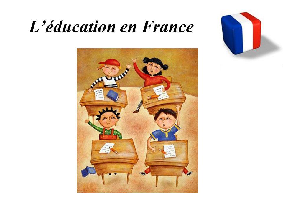 En France, l' éducation est… obligatoire 6 -16 ans