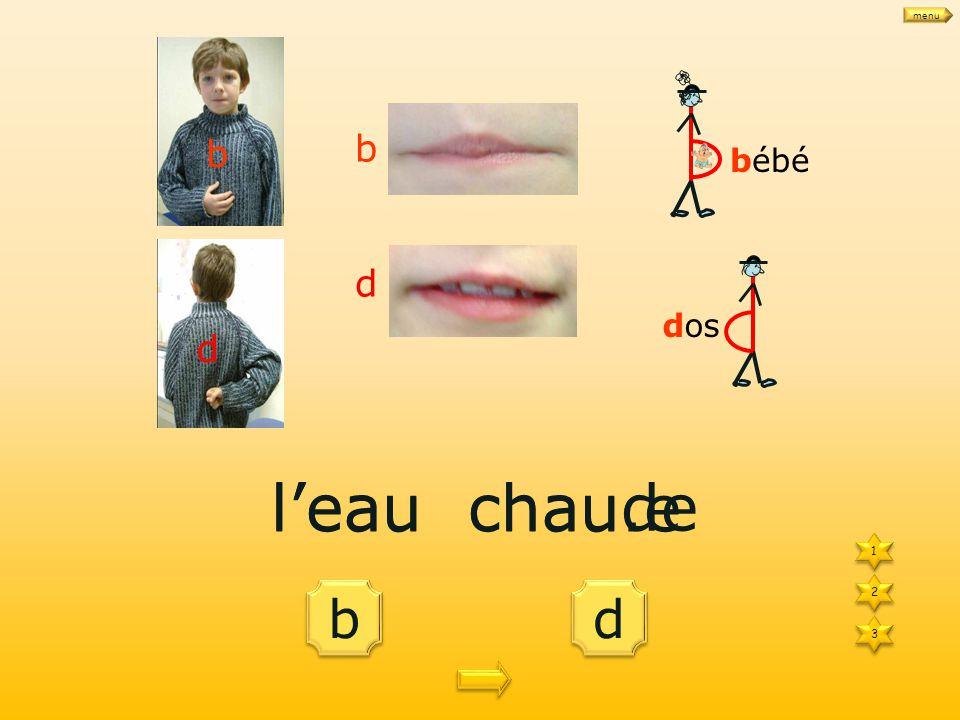 b b d d des ha.its 1 1 3 3 2 2 bébé dos b d b d des habits menu