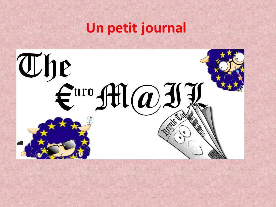 Un petit journal http://www.clg-vivonne-rambouillet.ac-versailles.fr/spip.php?article444