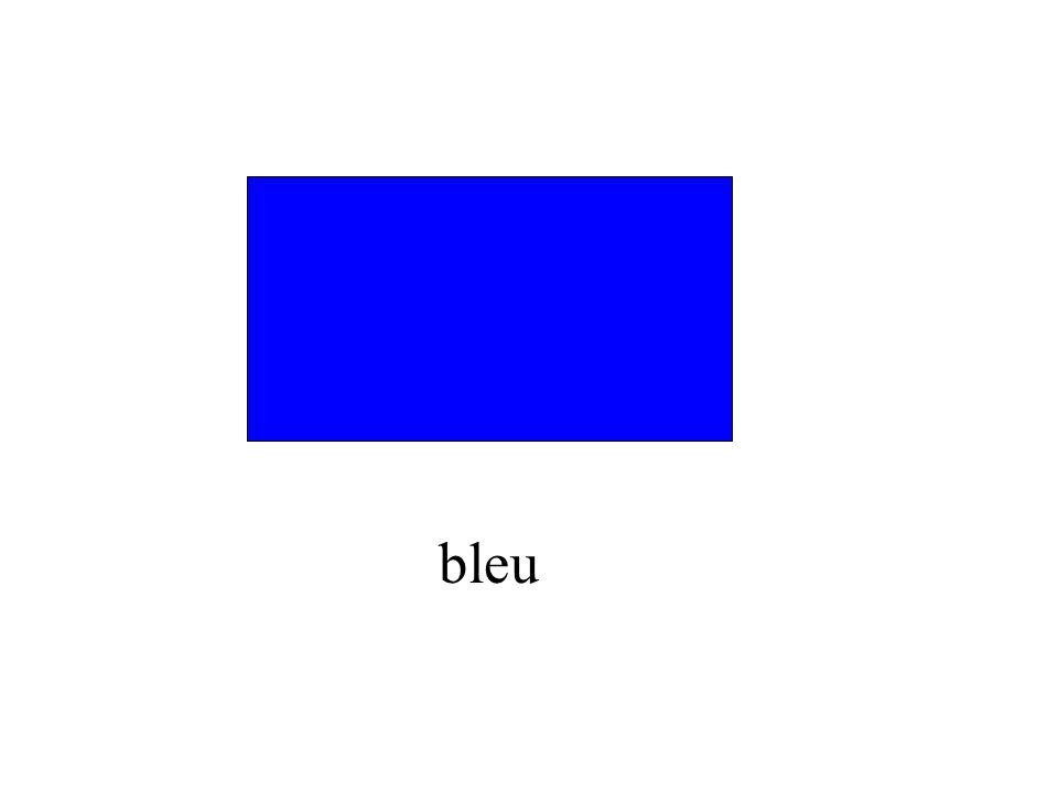 C'est quelle couleur?