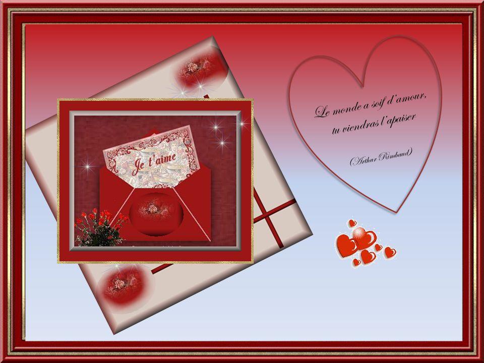 Il n'est de grand amour, qu'à l'ombre d'un grand rêve (Edmond Rostand )