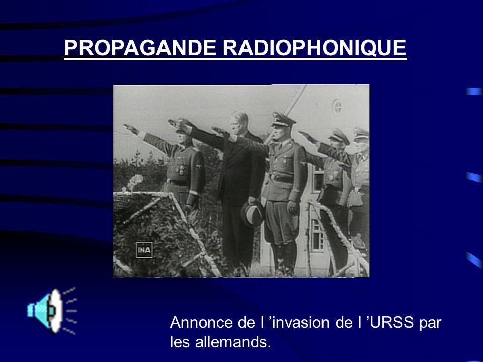 LE TRIOMPHE DE LA VOLONTÉ (1935) Le reportage de Léni Riefenstahl, réalisé avec des moyens très importants, présente le congrès nazi de Nuremberg (1934) en présence d 'Adolf Hitler.