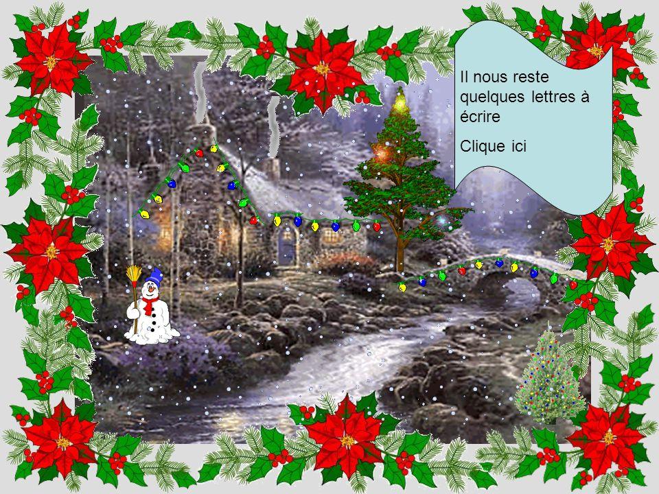 Un Noël sans neige n'est pas un Noël clique ici