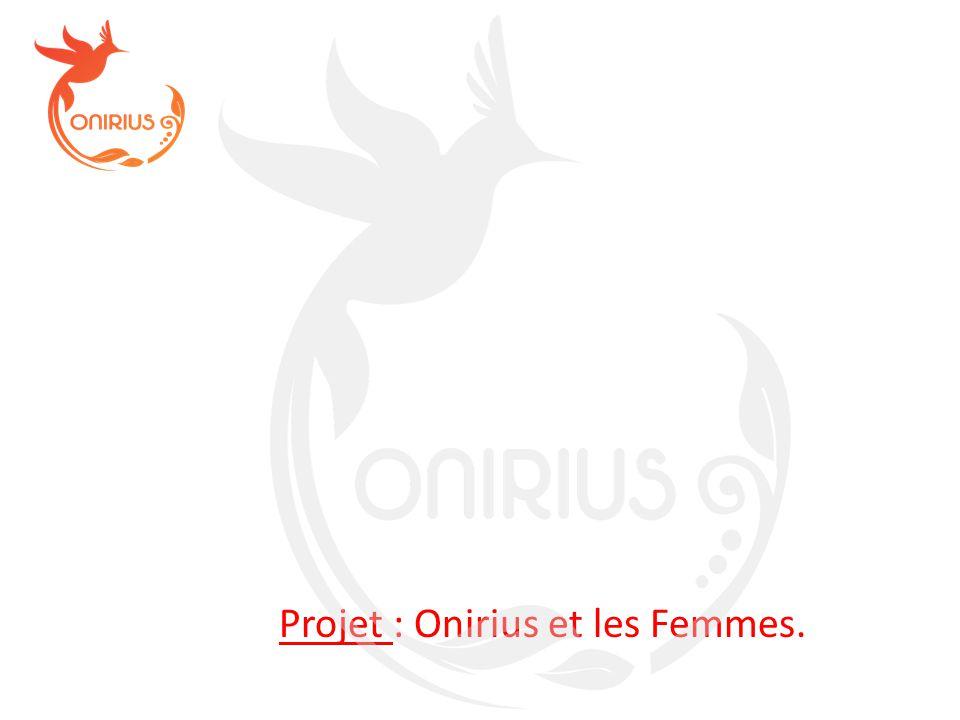 Projet : Onirius et les Femmes.