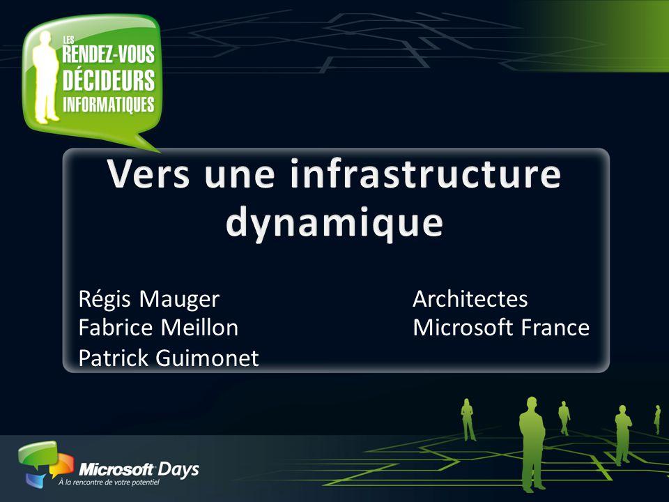 1 Régis MaugerArchitectes Fabrice MeillonMicrosoft France Patrick Guimonet
