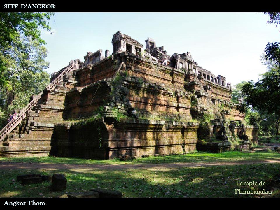 Temple de Phimeanakas SITE D'ANGKOR Angkor Thom