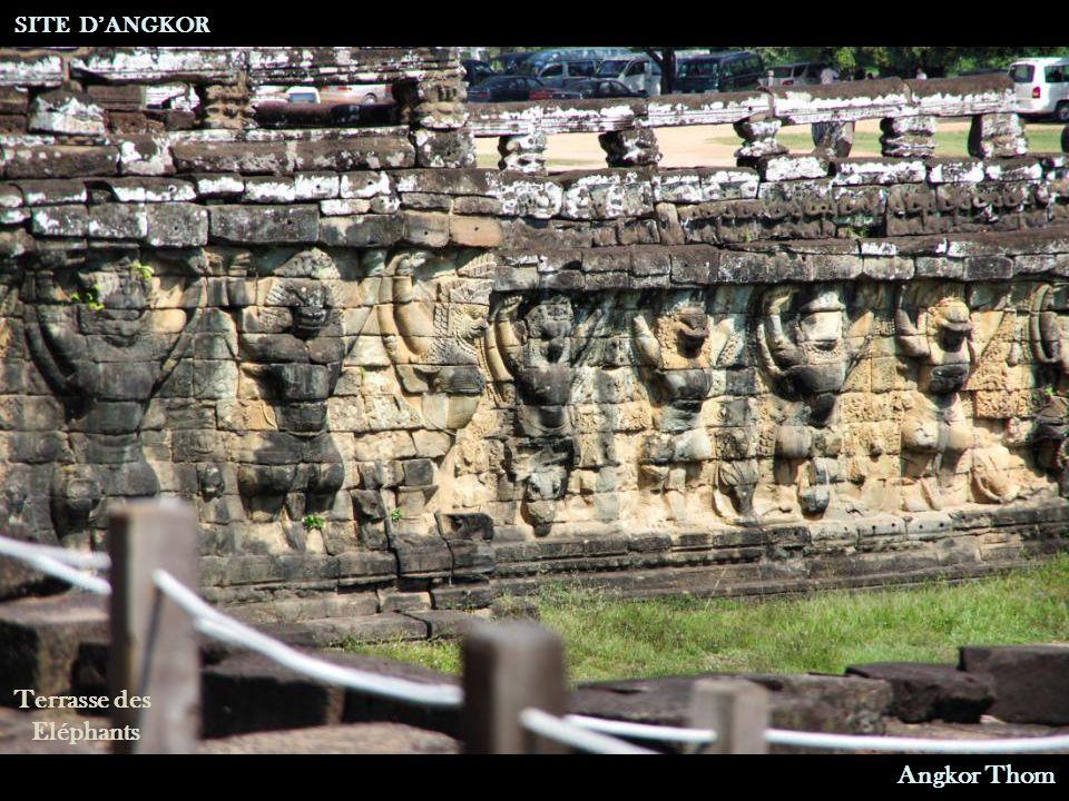 Terrasse des Eléphants SITE D'ANGKOR Angkor Thom