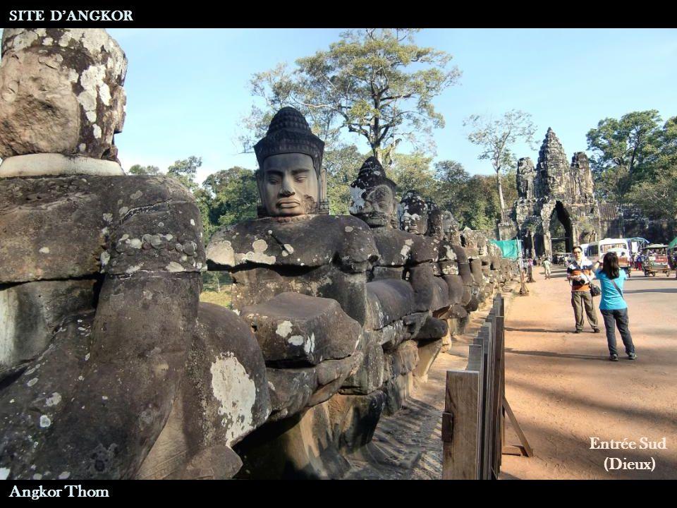 Porte Ouest A Suivre … SITE D'ANGKOR Angkor Thom