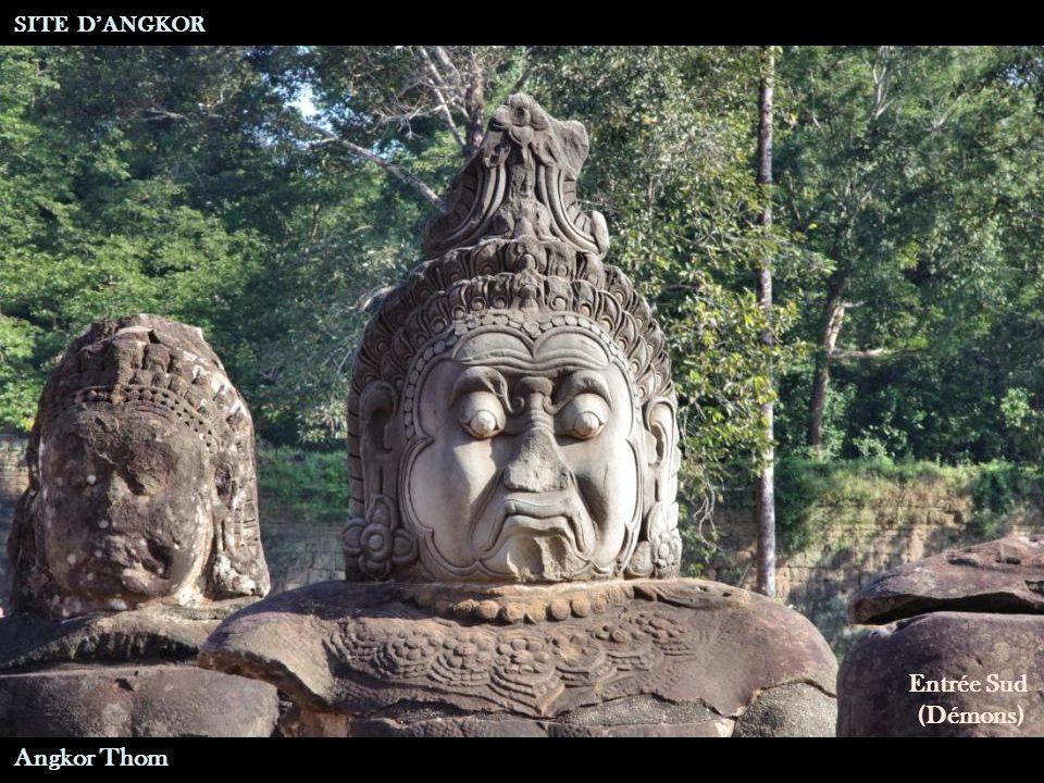 Entrée Sud (Dieux) SITE D'ANGKOR Angkor Thom