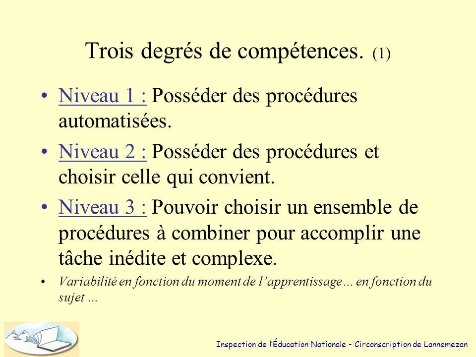 Les compétences dans le Socle. •Des différences considérables quant à leur degré d'exigence. –Connaître la ponctuation. (compétence de base qui s'auto