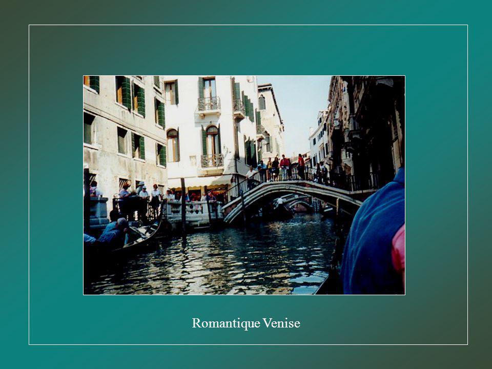 Le Pont des Soupirs de Venise