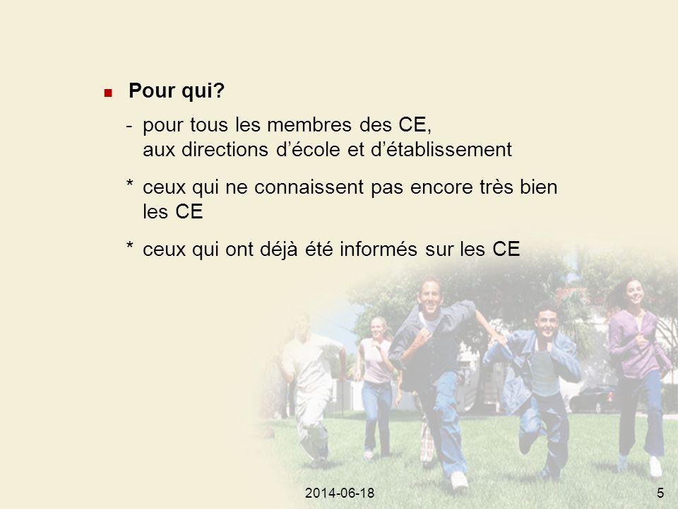 2014-06-18462014-06-1844 SERVICES ÉDUCATIFS CONSEIL D'ÉTABLISSEMENT (CE) DIRECTEUR, DIRECTRICE DU CENTRE MEMBRES DU PERSONNEL COMMISSION SCOLAIRE (CS) Modalités d'application du régime pédagogique Les approuve (art.