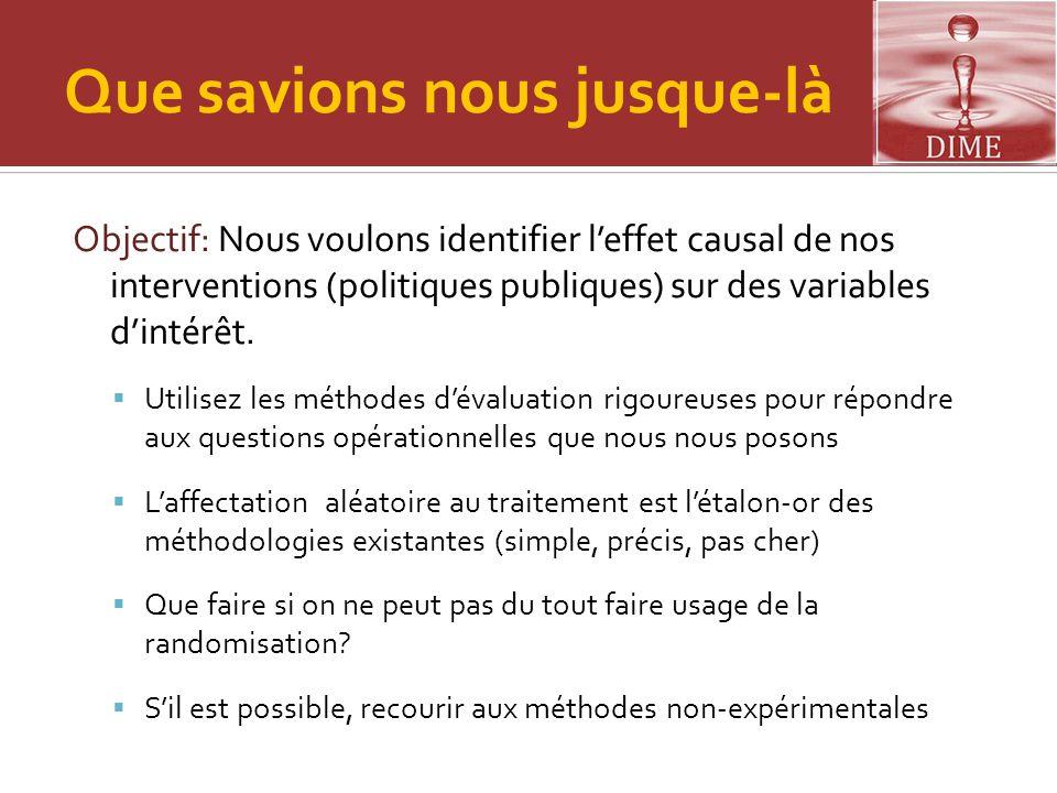 Attention (2)  Que faire.>> Faire de l'analyse descriptive.