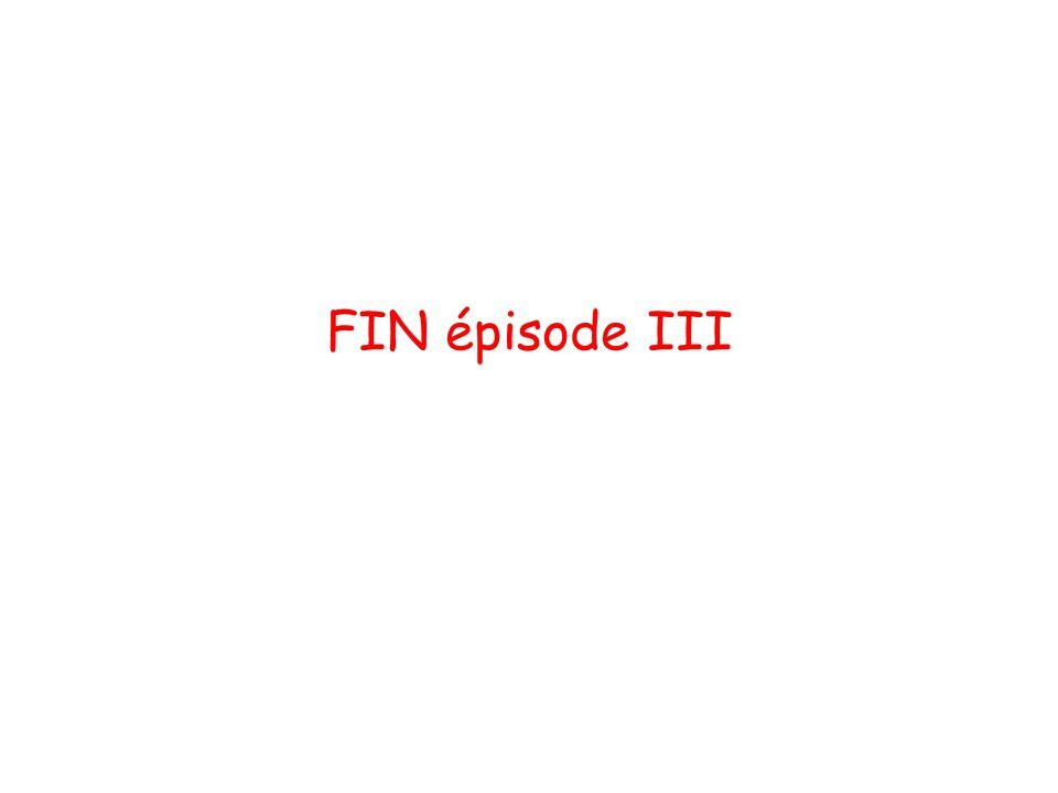 FIN épisode III