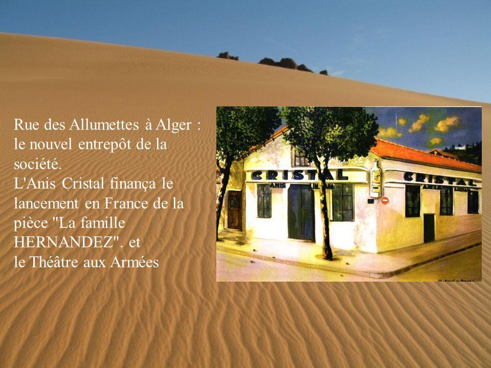L entreprise des frères LIMIÑANA La totalité des employés de l Anis Cristal est originaire d Espagne.