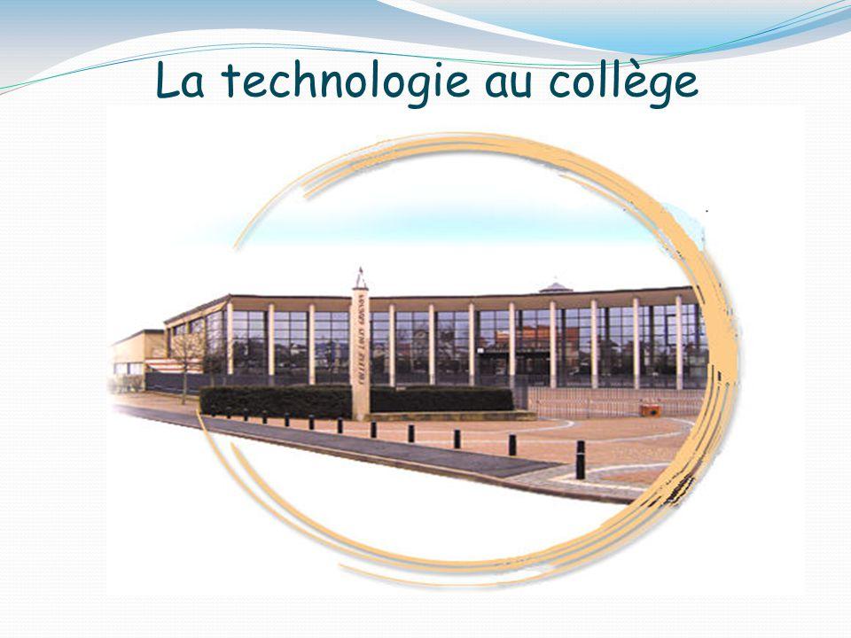 La technologie au collège