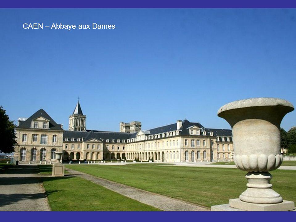 CAEN – Abbaye aux hommes