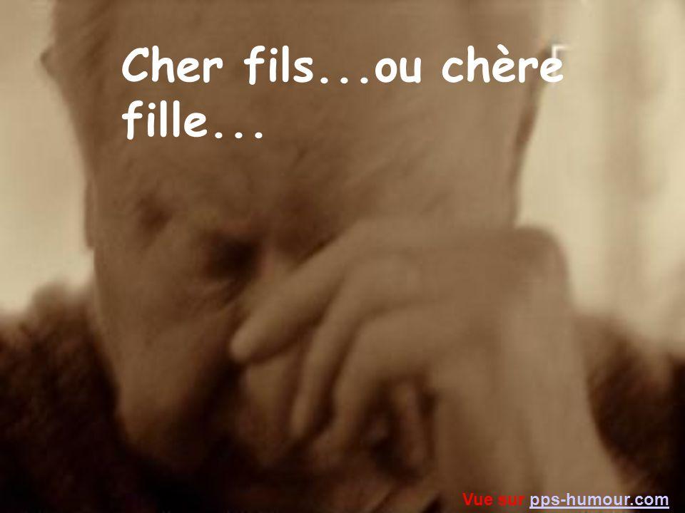 Lettre aux Enfants Vue sur pps-humour.compps-humour.com