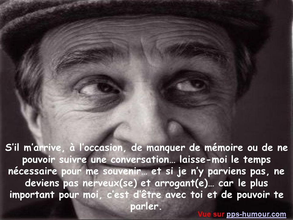 J'ai reçu ce diaporama d'une personne qui m'a demandé de le traduire en français.